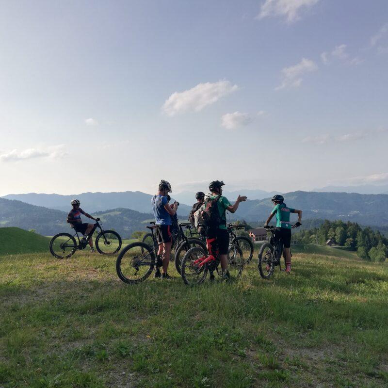 Hidden Hills Trail – ogled 1. in 2. etape